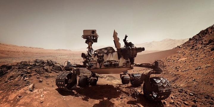 Марсоход Curiosity мог обнаружить на Марсе метановую вспышку