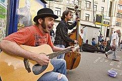 Уличную музыку предлагают легализовать