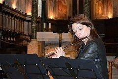Знаменитая флейтистка Моника Морони выступит с двумя концертами в Риме