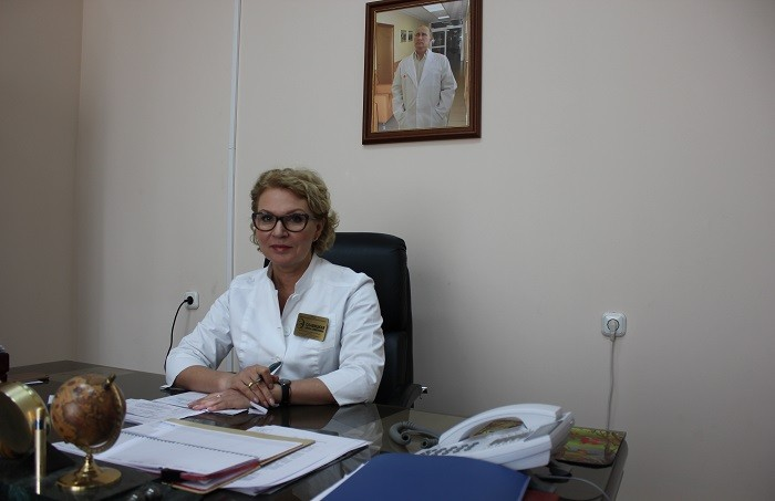 главный эндокринолог Ставропольского края, к.м.н. Елена Семеновна Славицкая