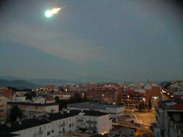 ВШотландии ночное небо озарил пугающий «огненный шар»