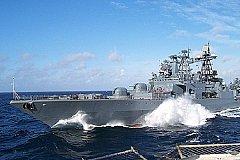 В дальний поход отправились корабли Тихоокеанского флота России