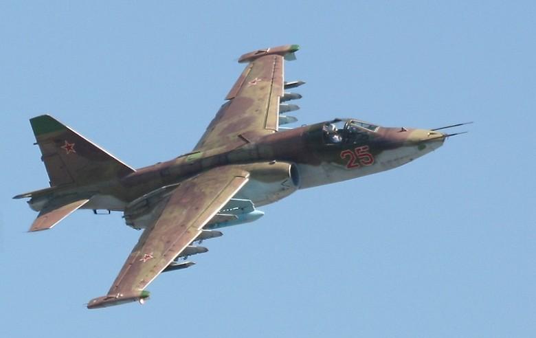 ВПриморье упал самолет Су-25, пилот катапультировался
