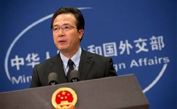 Официальный представитель МИД Китая Хун Лэй