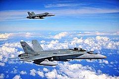 Два истребителя ВМС США рухнули в Атлантике