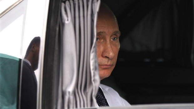 Передвижение Путина по Греции проводится в электронном поле безопасности