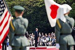 Президент США прибыл в Хиросиму и возложил венок в Мемориальном парке мира