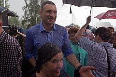Небеса против Кличко. ВИДЕО