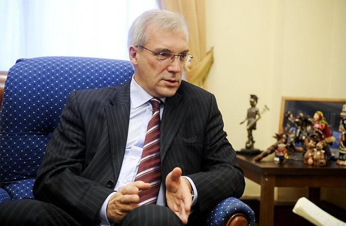 Постоянный представитель Москвы при НАТО Александр Грушко