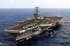 США угрожают России авианосцем Harry Truman в Средиземном море