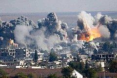 Удар с воздуха по Ракке стал причиной гибели мирных жителей