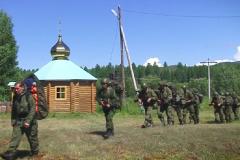 Российские спецназовцы у сибирских староверов в дикой тайге