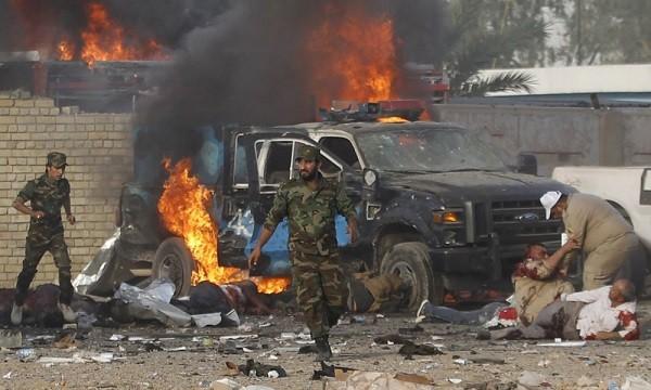 Число жертв превысило 20— Теракт вБагдаде