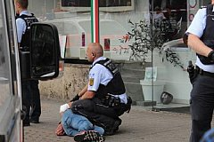 В Германии сириец с мачете зарубил женщину
