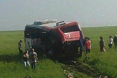 В аварии в Казахстане погибли двое россиян