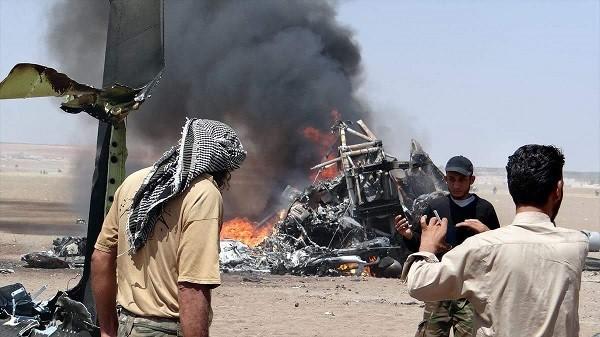 Сирийская группировка предложила обменять тела граждан России сосбитого Ми-8 назаключенных