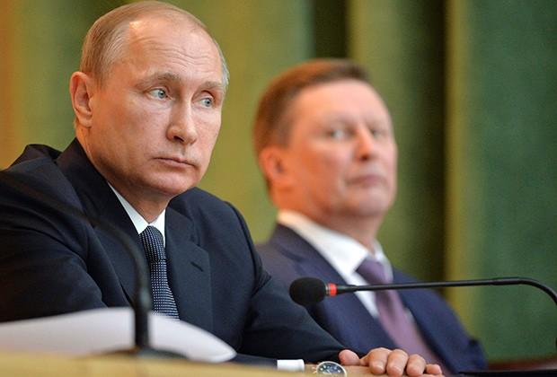 Путин сказал , почему Иванов покинул пост руководителя  администрации президента