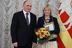 Губернатор Челябинской области премировал олимпийцев