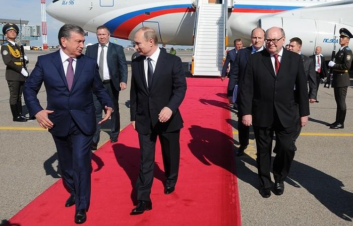 Мыподдержим народ ируководство Узбекистана— Путин