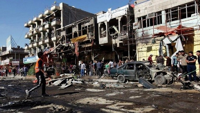 Мощнейший взрыв вБагдаде убил несколько десятков человек
