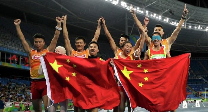 Появились фото сцеремонии закрытия Паралимпийских игр-2016 вРио-де-Жанейро