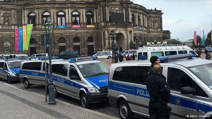 Взрывы прогремели вДрездене перед мечетью иконгресс-центром