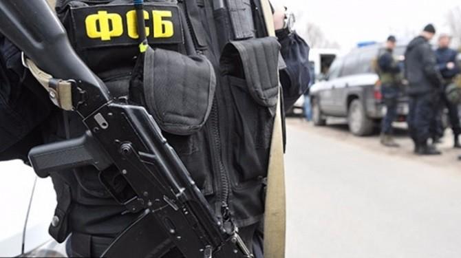 ФСБ объявила озадержании вКрыму украинских диверсантов