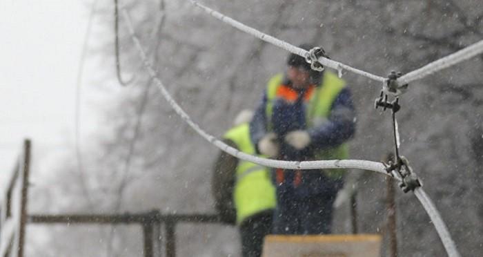 25 тыс. человек остаются без электроснабжения вКалужской иНижегородской областях