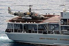 «Вице-адмирал Кулаков» отбуксировал украинское судно к острову Крит