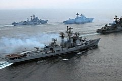 Из-за учений Украины у берегов Крыма корабли ВМФ России вышли в море