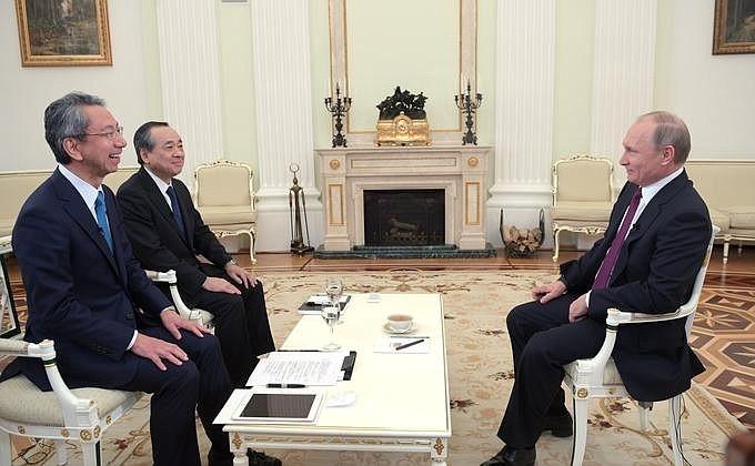 Путин собирает собственный Совбез перед визитом вЯпонию