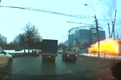 Видеозапись взрыва перехода метро «Коломенская» в Москве уже в сети