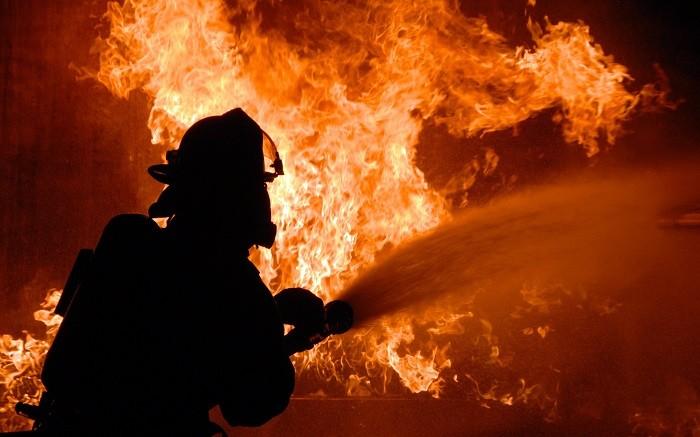 Пожар на металлургическом комбинате в Магнитогорске фото 2