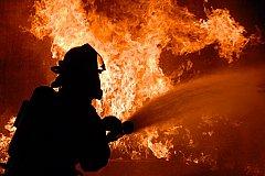 Пожар на металлургическом комбинате в Магнитогорске