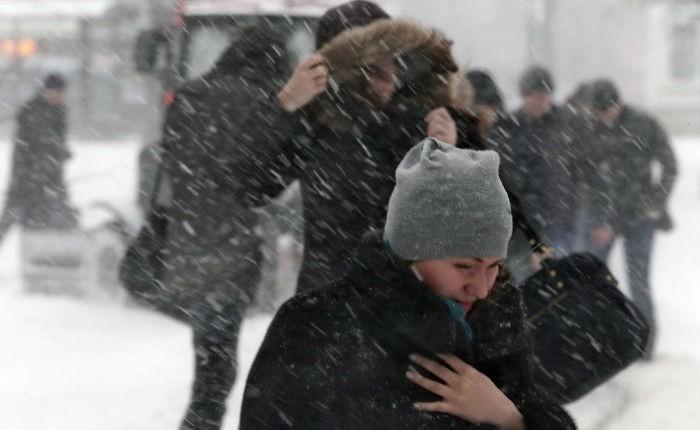 В столицеРФ наНовый год объявили штормовое предупреждение