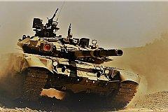 Русский Т-90, проверка боем. Сирия.