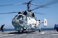 Морская авиация России пополнилась модернизированными палубными вертолетами Ка-27М