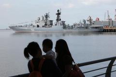 Дутерте российскому флоту: «Можете швартоваться здесь в любое время»