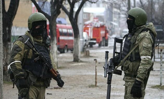 При штурме дома вХасавюрте убиты трое предполагаемых боевиков