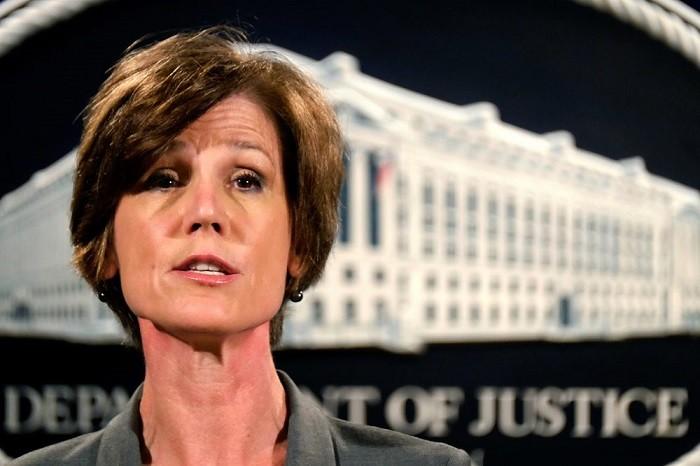Дональд Трамп сократил «предавшую министерство юстиции» генерального прокурора США, назначенную Обамой