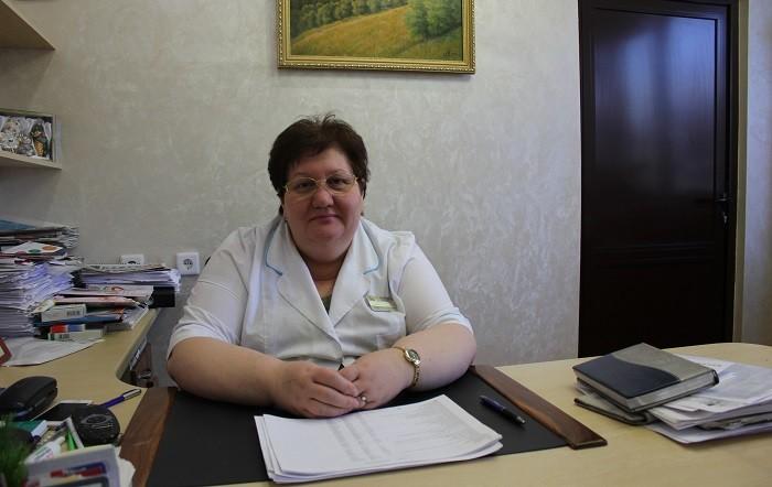 Главный врач роддома Г.М. Левченко