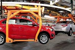 На 68% в России выросло производство легковых автомобилей