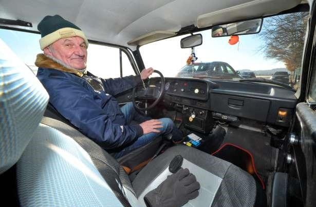 Германский  пенсионер проехал на«Москвиче» млн.  километров