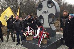 В честь десантников 6-й роты в Чечне открыли поклонный крест
