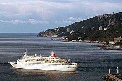 В мае между  Сочи и Крымом запустят круизный лайнер