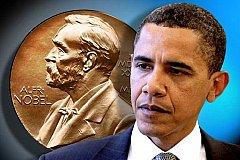 Барак Обама как «Голубь мира»