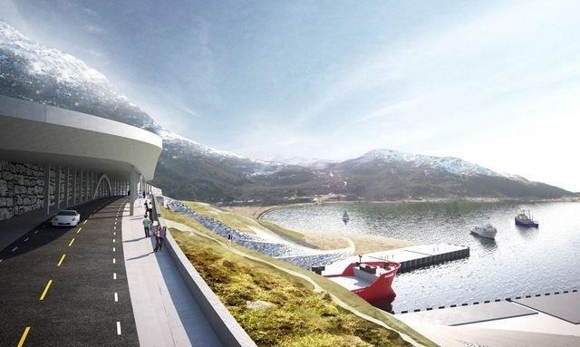В Норвегии намерены построить первый в мире судоходный туннель фото 2
