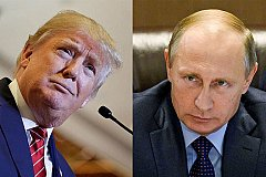 Трамп о Путине: «он крепкий орешек»