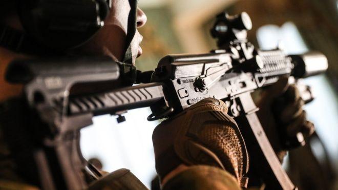 Шесть бойцов Росгвардии погибли впроцессе атаки боевиков вЧечне