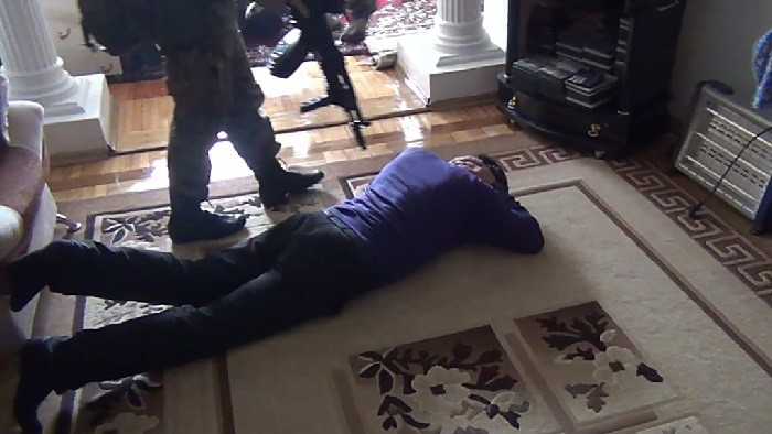 Арест Рената Абдурахманова. Фото: kavkazr.com